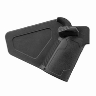"""VISM AR FEATURELESS """"FIN"""" GRIP WITH AMBI THUMB REST (BLACK)"""