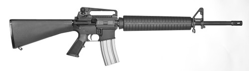 """Stag Arms Model 4 5.56mm/223 Rem NEW YORK SAFE ACT LEGAL fixed magazine rifle features 20"""" Barrel, detatchable carry handle, 6 position stock, flash hider, bayonet lug, extended rear take down pin, and a fixed 10 round magazine. It is New York State legal because it has a fixed 10 round magazine and is a top loader. New York does not consider this rifle an assault weapon and therefor is transferable and does not need to be registered. We have many makes & model NEW YORK LEGAL AR-15's available for sale, call for details or stop in!!! Picture Is An Example Picture."""