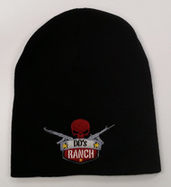 DD'S RANCH BEANIE HAT WITH LOGO