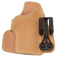 BLACKHAWK! SUEDE LEATHER TUCKABLE HOLSTER 2'' 5 SHOT .38/.357 REVOLVER