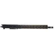 "AR-15 5.56mm/223 Rem COMPLETE UPPER ASSEMBLY WITH 15"" BRONZE M-LOK FREE FLOAT HANDGUARD"