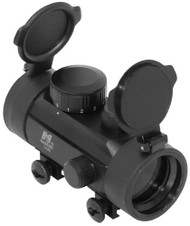 NcSTAR RED DOT REFLEX OPTIC WITH WEAVER STYLE MOUNT