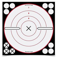 "BIRCHWOOD CASEY SHOOT-N-C REACTIVE TARGET 8"" (6 SELF-ADHESIVE TARGETS, 72 REPAIR PASTERS)"