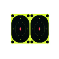 "BIRCHWOOD CASEY SHOOT-N-C REACTIVE TARGETS 7"" (12 SELF-ADHESIVE TARGETS, 48 REPAIR PASTERS)"
