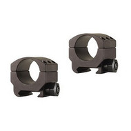 "BURRIS XTREME TACTICAL RINGS LOW 1"" MATTE (LIGHTWEIGHT TWO-PIECE RINGS)"