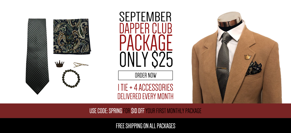 Monthly Dapper Club, HarrisonBlakeApparel com