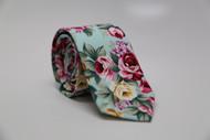 Hawaiian Floral Necktie