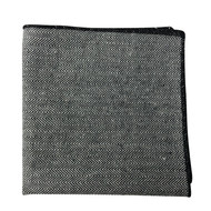 Black Bone Pocket Square