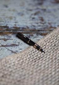Ink Pen Tie Bar
