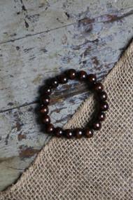 Round Chocolate Bracelet