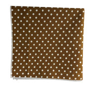 Caramel Dots Pocket Square