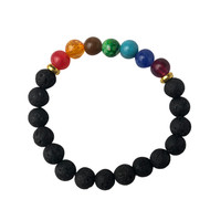 Colorful Lava Bracelet