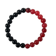 Black & Red Chicago Bracelet