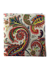 Crayola Paisley Pocket Square