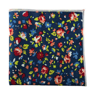 Berry Bunch Pocket Square