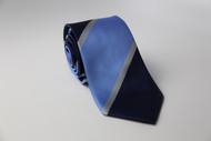 Blue Ocean Stripe Necktie