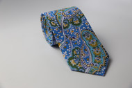 Blue & Yellow Jazz Necktie