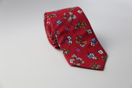 Deep Red Rose Necktie