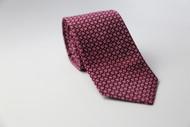 Burgundy Pattern Necktie