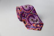 Purple Tye Dye Necktie