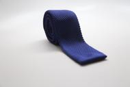 Royal Blue Knit Necktie