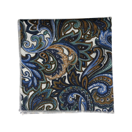 Global Paisley Pocket Square