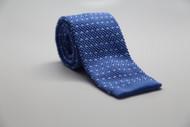 Sky Blue w/ Dots Knit