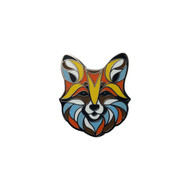 Dapper Fox Lapel Pin