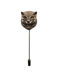 Jaguar Head Lapel Pin