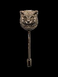 Jaguar Head Lapel Pin