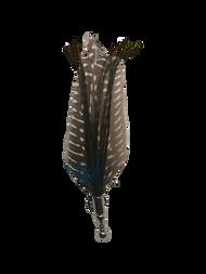 Brown Pheasant Feather Lapel Pin
