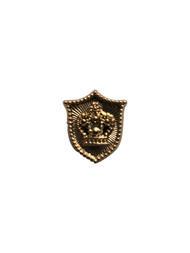 Gold Shield Lapel Pin