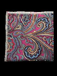 Pink Kaleidoscope Pocket Square