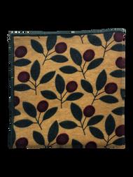 Golden Cranberry Pocket Square