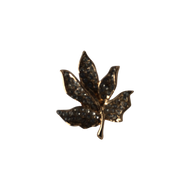 Maple Leaf Diamond Lapel Pin
