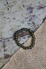 Transparent Green Bracelet