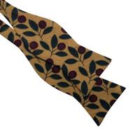 Golden Leaf Bow Tie