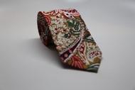 49ers Floral Necktie