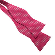 Pink Dot Bow Tie