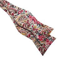 Hippie Paisley Bow Tie