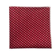 Cherry Dot Pocket Square