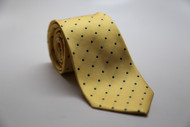 Yellow Dot Necktie