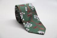 Green Garden Necktie