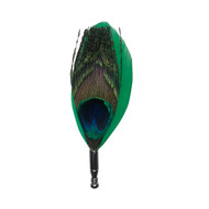 Green Feather Lapel Pin