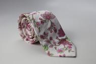 Pink Ivy Necktie
