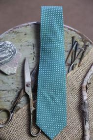 Green Dot Necktie