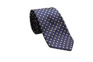 Mandarin Dot Necktie