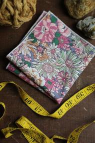 Mauve Blossom Pocket Square