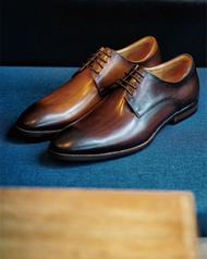 Burnished (Brown or Tan) Lace Up