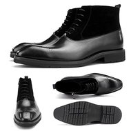 Louie  Black Suede Boot